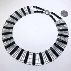 Art Deco vintage collar necklace